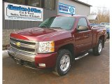 2008 Deep Ruby Metallic Chevrolet Silverado 1500 LT Regular Cab 4x4 #78214009