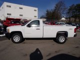2013 Summit White Chevrolet Silverado 1500 Work Truck Regular Cab 4x4 #78214419