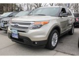 2011 Gold Leaf Metallic Ford Explorer XLT 4WD #78214113