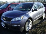 2013 Atlantis Blue Metallic Chevrolet Traverse LS #78213751