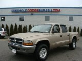 2004 Light Almond Pearl Metallic Dodge Dakota SLT Quad Cab 4x4 #78214393