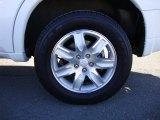 Mitsubishi Endeavor 2011 Wheels and Tires