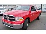 2012 Flame Red Dodge Ram 1500 SLT Quad Cab 4x4 #78213845