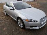 2013 Jaguar XF Rhodium Silver Metallic