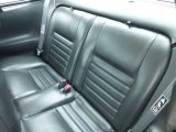 2000 Ford Mustang GT Coupe Rear Seat