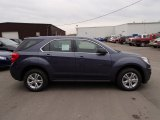2013 Atlantis Blue Metallic Chevrolet Equinox LS AWD #78213962