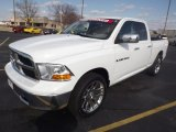 2011 Bright White Dodge Ram 1500 SLT Quad Cab #78214083