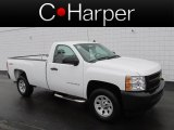 2011 Summit White Chevrolet Silverado 1500 Regular Cab 4x4 #78266540