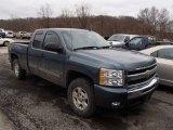 2009 Blue Granite Metallic Chevrolet Silverado 1500 LT Extended Cab 4x4 #78265955