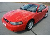 2003 Torch Red Ford Mustang V6 Convertible #78266483