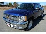 2013 Blue Topaz Metallic Chevrolet Silverado 1500 LT Crew Cab 4x4 #78266480