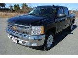 2013 Black Chevrolet Silverado 1500 LT Crew Cab 4x4 #78266478