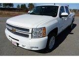 2013 Summit White Chevrolet Silverado 1500 LT Crew Cab 4x4 #78266477