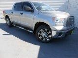 2013 Silver Sky Metallic Toyota Tundra Texas Edition CrewMax #78266179