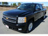 2013 Black Chevrolet Silverado 1500 LT Crew Cab 4x4 #78266471
