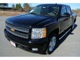 2013 Black Chevrolet Silverado 1500 LTZ Crew Cab 4x4 #78266463