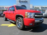 2011 Victory Red Chevrolet Silverado 1500 LT Extended Cab #78266162