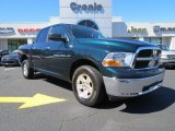 2011 Hunter Green Pearl Dodge Ram 1500 SLT Crew Cab 4x4 #78266161
