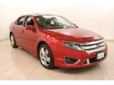 2010 Red Candy Metallic Ford Fusion Sport AWD #78266443