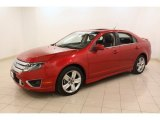 2010 Ford Fusion Red Candy Metallic