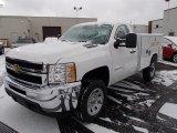 2013 Chevrolet Silverado 3500HD WT Regular Cab 4x4 Utility Truck Data, Info and Specs