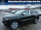 2014 Black Forest Green Pearl Jeep Grand Cherokee Limited 4x4 #78319819