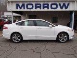 2013 Oxford White Ford Fusion SE 1.6 EcoBoost #78319695