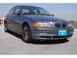 2001 Steel Blue Metallic BMW 3 Series 330i Sedan #78320244