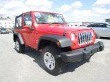 2012 Flame Red Jeep Wrangler Sport 4x4 #78320145
