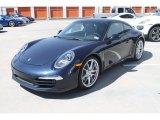 2013 Porsche 911 Dark Blue Metallic