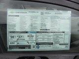 2013 Chevrolet Volt  Window Sticker