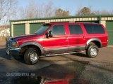 2001 Toreador Red Metallic Ford Excursion XLT 4x4 #78319668