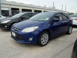 2012 Sonic Blue Metallic Ford Focus SE 5-Door #78319664