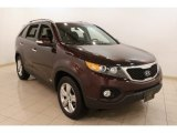 2012 Dark Cherry Kia Sorento EX AWD #78320126