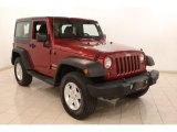 2012 Deep Cherry Red Crystal Pearl Jeep Wrangler Sport S 4x4 #78320104