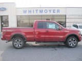 2013 Ruby Red Metallic Ford F150 FX4 SuperCab 4x4 #78320090