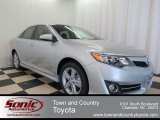 2013 Classic Silver Metallic Toyota Camry SE #78320068