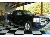 2008 Dark Blue Metallic Chevrolet Silverado 1500 LT Crew Cab #78375592
