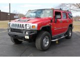2004 Hummer H2 Victory Red