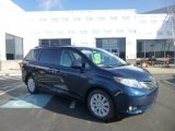 2011 South Pacific Blue Pearl Toyota Sienna Limited AWD #78374645