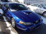 2003 Sonic Blue Metallic Ford Mustang V6 Coupe #78375195