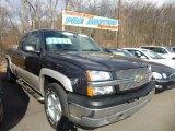 2005 Black Chevrolet Silverado 1500 Z71 Extended Cab 4x4 #78374636