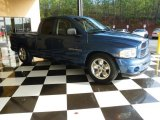 2004 Atlantic Blue Pearl Dodge Ram 1500 Sport Quad Cab #78375548