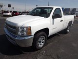 2013 Summit White Chevrolet Silverado 1500 LS Regular Cab #78374816