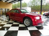 2008 Inferno Red Crystal Pearl Chrysler 300 LX #78375544