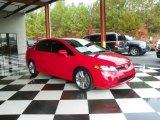 2007 Rallye Red Honda Civic Si Sedan #78375539