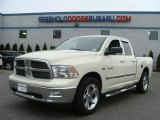 2010 Cool Vanilla Dodge Ram 1500 Big Horn Quad Cab 4x4 #78375155