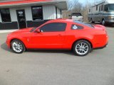 2011 Race Red Ford Mustang V6 Premium Coupe #78375151