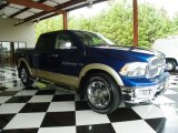 2011 Deep Water Blue Pearl Dodge Ram 1500 Laramie Crew Cab #78375526