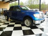 2010 Blue Flame Metallic Ford F150 XLT SuperCrew #78375515